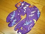 ハロウィンの足袋