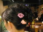 mizuhoアップヘア